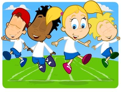 sports day cartoon