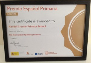 Spanish Bronze Award