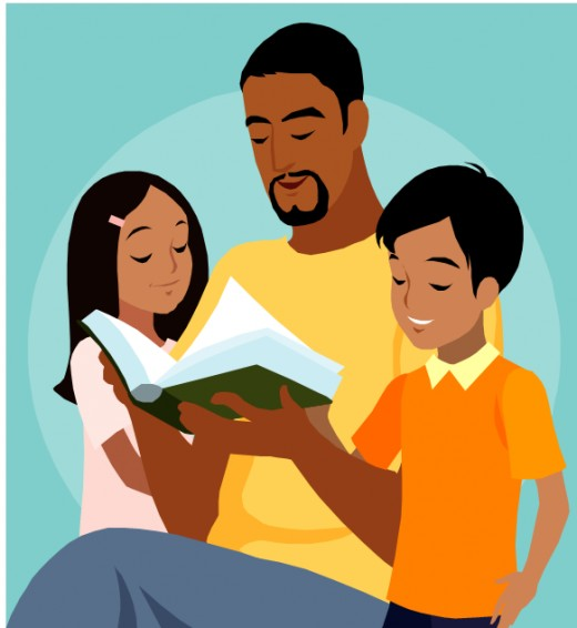 dads-reading